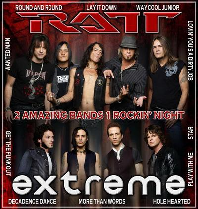 Ratt And Extreme Team Up For First Summer Tour
