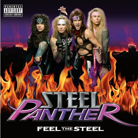 Steel Panther's 'Feel The Steel' To Be Released This Monday