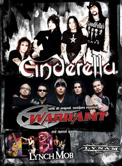 Warrant 2008 Tour with Cinderella and Lynch Mob