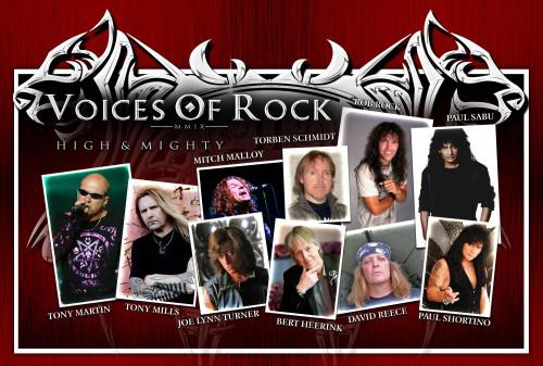 Voices Of Rock Album To Feature Rock's Finest Singers