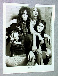 KISS 1973 Press Kit Photo Being Auctioned