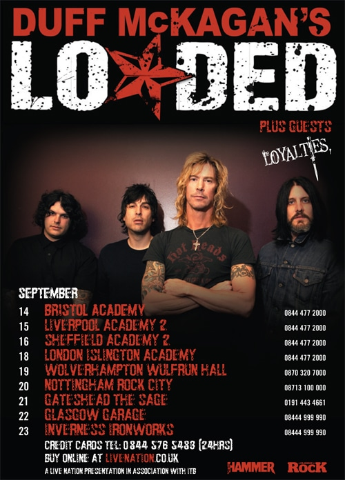 Duff McKagan's Loaded Tour