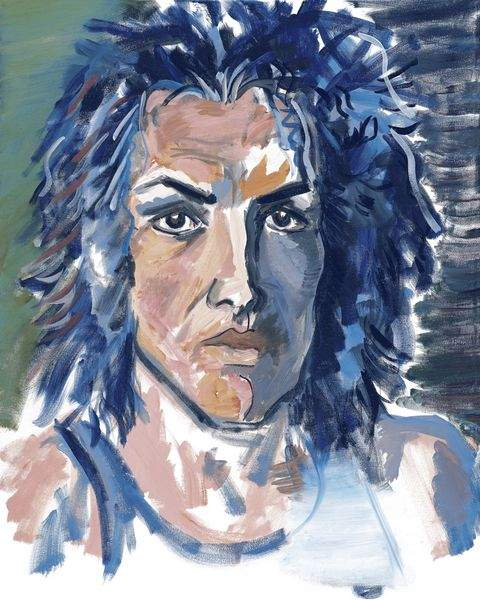 Kiss Frontman Paul Stanley Is Taking Brush To Canvas