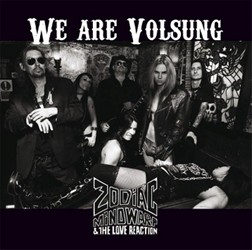 Zodiac Mindwarp & The Love Reaction Reveal 'We Are Volsung' Artwork