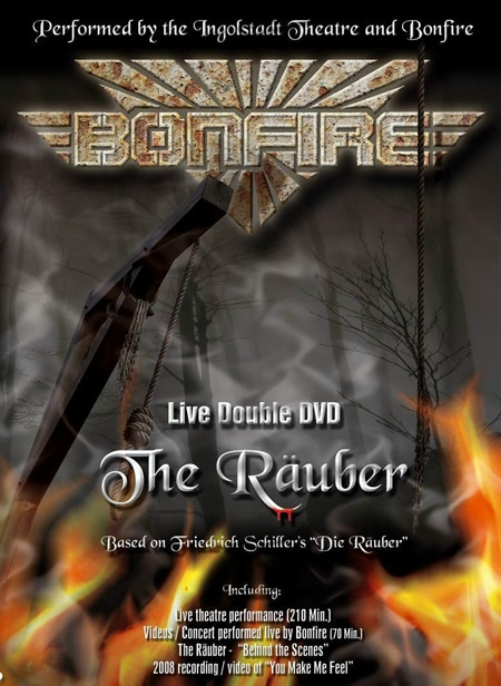 Bonfire To Release Double Live DVD The Rauber