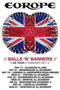 Europe's 'Balls 'N' Banner's Tour To Begin In February 2011