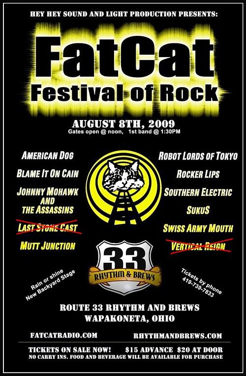 American Dog To Headline FatCat Festival Of Rock