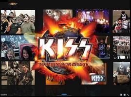 KISS Debuts Interactive Concert Photo Experience