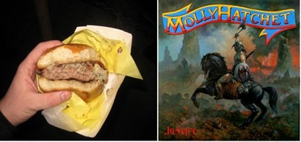 Molly Hatchet Signature Burger To Be Featured On TV's Food Wars