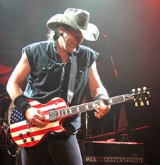 Ted Nugent Avoids 'Drooling, Puking And Dying'