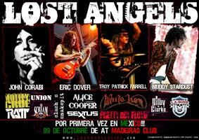 Motley Crue, L.A. Guns, Alice Cooper And White Lion Members Announce Mexican Show