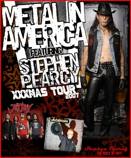 Stephen Pearcy Metal in America