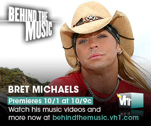 Bret Michaels Behind The Music To Air October 1st