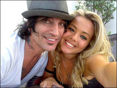Tommy Lee Dating Topless Italian Model Chiara Salvade
