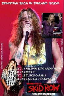 Sebastian Bach Rocks Out With New Guitarist Nick Sterling