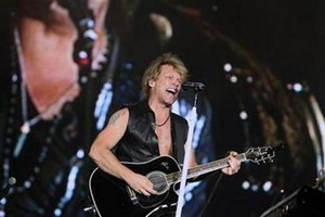 Bon Jovi To Receive Global Icon Prize At MTV Europe Awards