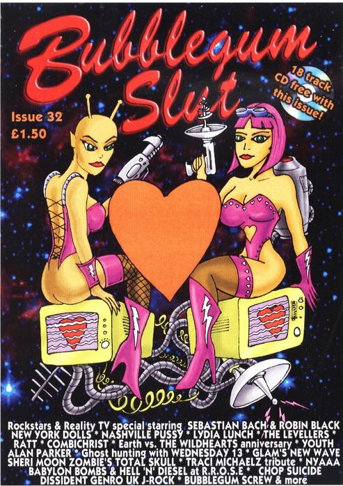 Bubblegum Slut Magazine Publishes 32nd Issue