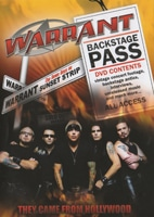 Warrant Release 'They Came From Hollywood' DVD