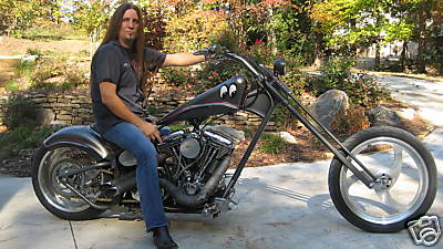 Own Jesse James Dupree's Custom Chopper