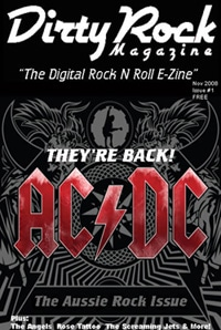 Dirty Rock Magazine Issue #1 Now Available