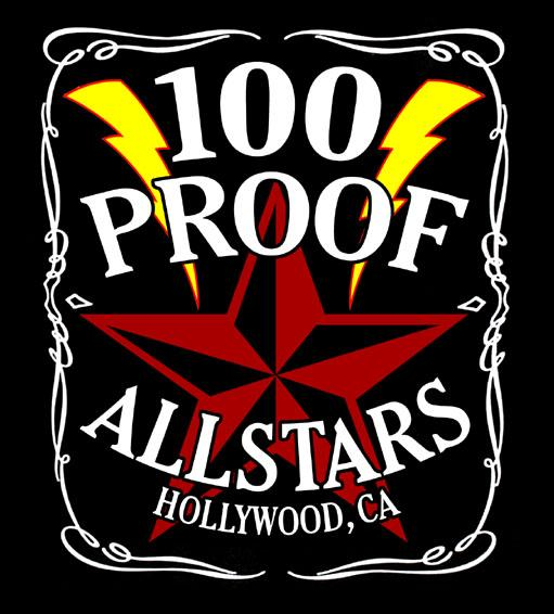 Rock Stars Form 100 Proof Allstars Cover Band