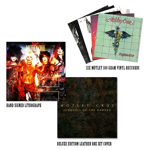 Motley Crue To Commemorate Vinyl Reissue With Limited Edition Box Set