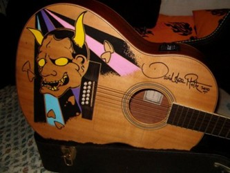 David Lee Roth Pre-Owned Guitar Being Sold Online