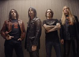 Monster Magnet Sign With Napalm Records