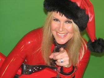 Lita Ford Gets In The Holiday Spirit With Alice Cooper