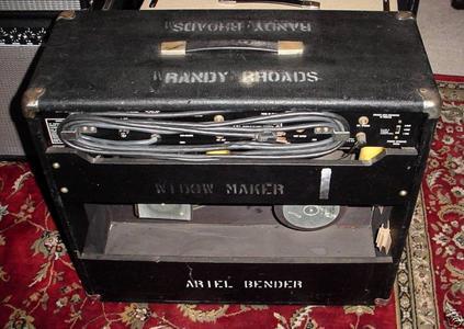 Randy Rhoads Blizzard Of Ozz Amplifier Being Sold For $12,500