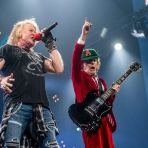 New AC/DC album with Axl Rose on vocals reportedly not expected until 2018