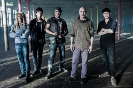 """Dan Reed Network - """"The Brave"""" video shoot, Bolton, UK on March 14, 2016"""