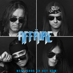 AFFÄIRE aiming for early 2019 release for new studio album 'Less Ain't More'