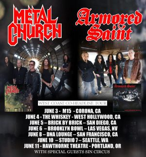 Armored Saint poster 2