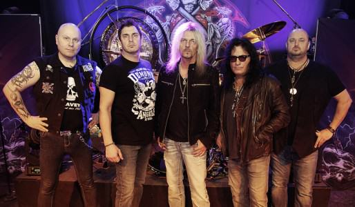 Axel Rudi Pell group photo