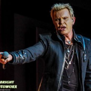 Billy Idol live at the Treasure Island Resort & Casino in Welch, Minnesota, USA Concert Review