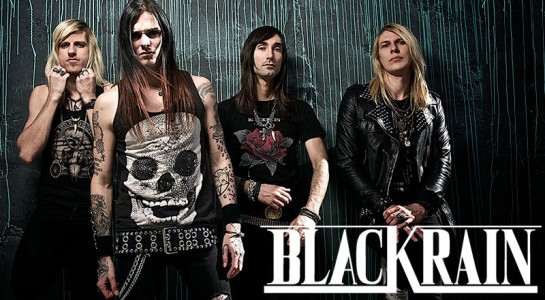 BlackRain group photo