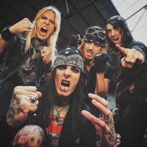 "BlackRain unleash live video for track ""Blast Me Up"""