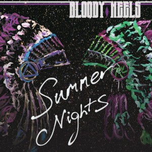 CD cover for Bloody Heels' 'Summer Nights'