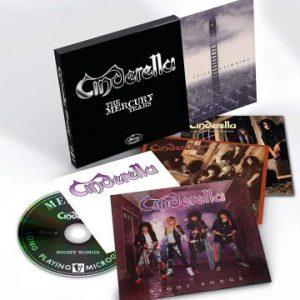 Cinderella – 'The Mercury Years' Box Set (September 28, 2018)