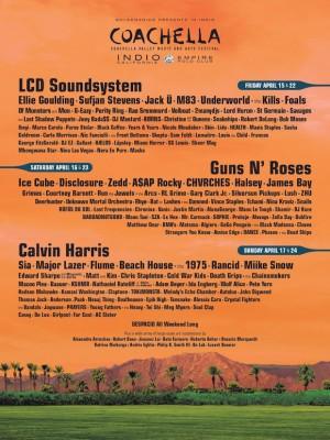 Coachella poster
