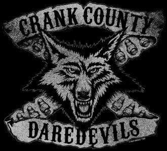 Crank County Daredevils logo