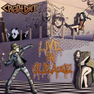 Crashdïet – 'Live In Sleaze' (October-November 2017)