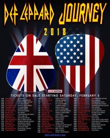 Def Leppard Tour Usa