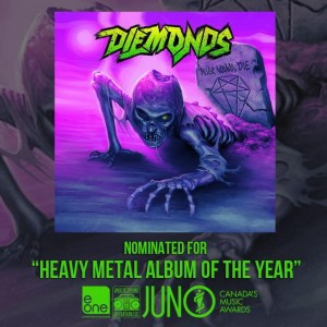 Diemonds Juno nomination