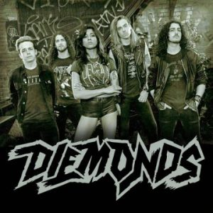 Canadian sleaze rockers Diemonds to play 24 shows in 28 days during first European tour
