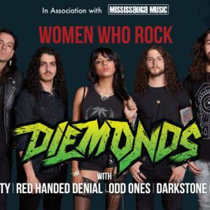 Diemonds live at Living Arts Centre in Mississauga, Ontario, Canada Concert Review
