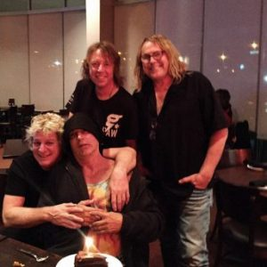 Video footage of Dokken's classic line-up rehearsing