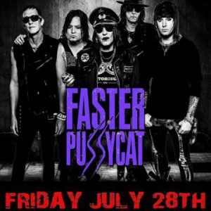 Faster Pussycat live at The Rockpile in Toronto, Ontario, Canada Concert Review