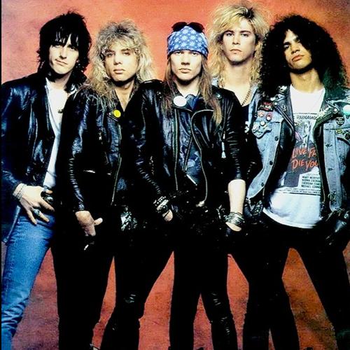 Guns N Roses 2013 Members Three fifths of Guns N...
